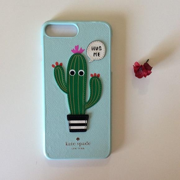 super popular 10b80 7719a Hug Me Cactus iPhone X Kate Spade Case